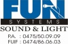 folkroddels Fun Systems P.A. renting